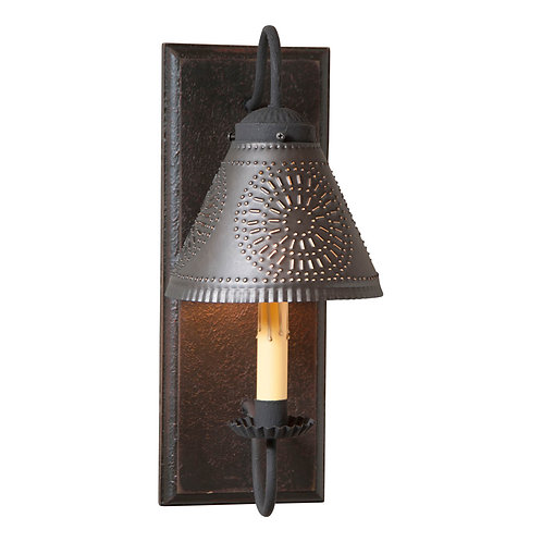 Traditional Crestwood Sconce in Choice of Finish