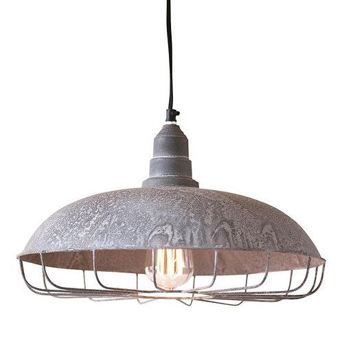 Supply Store Pendant Light , Weathered Zinc Finish