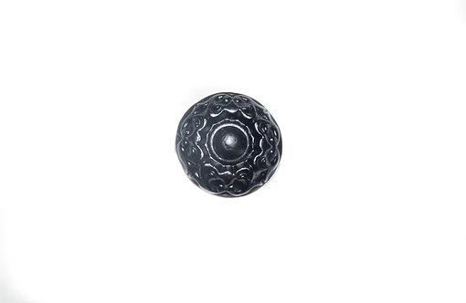 Large Round Black/ Bronze Finish Iron Draw Pull   1 3/4 x 1 3/4 x 1 ''