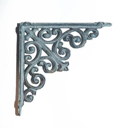 Large Cat Iron Victorian Shelf Bracket