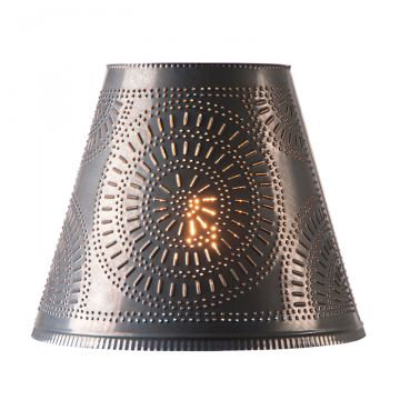 14-Inch Fireside Shade with Chisel in choice of Finish