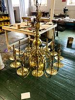 antique lamp - vintage lighting fixture restoration - rewiring - massachusetts - rhode island