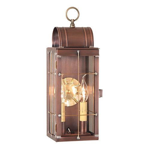 Queen Arch Lantern in Antique Copper