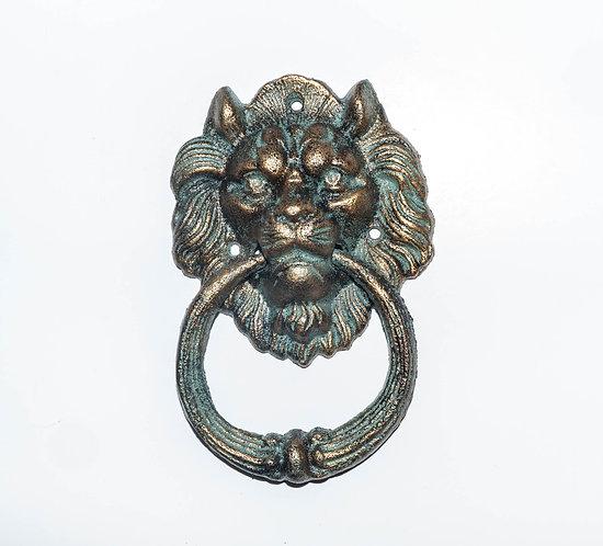Lion Head Cast Iron Door Knocker
