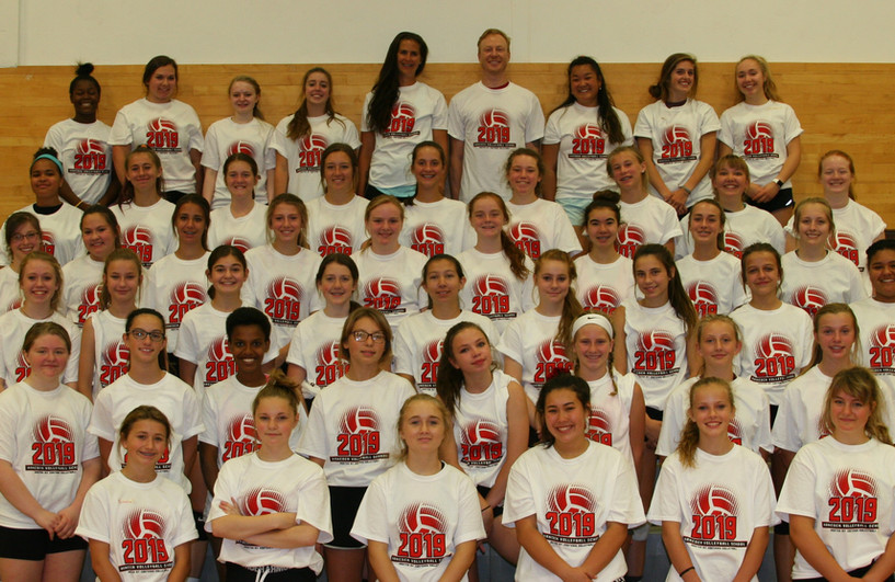 2019 Volleyball School - MS Camp