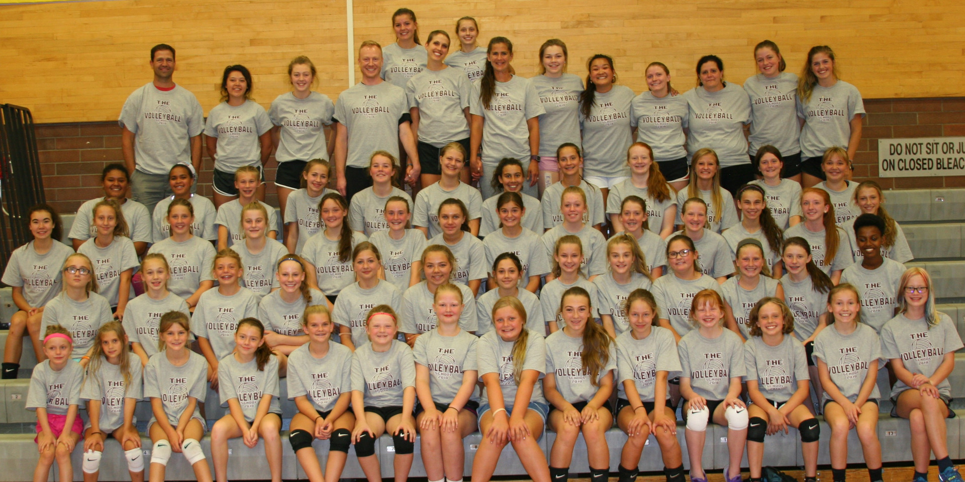 2018 Volleyball School - MS Camp