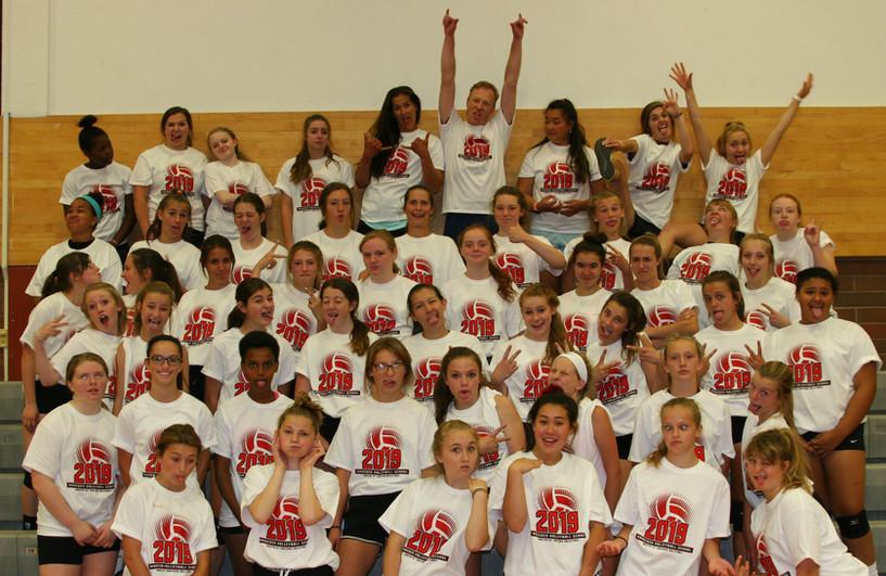 2019 Volleyball School - MS Camp Fun