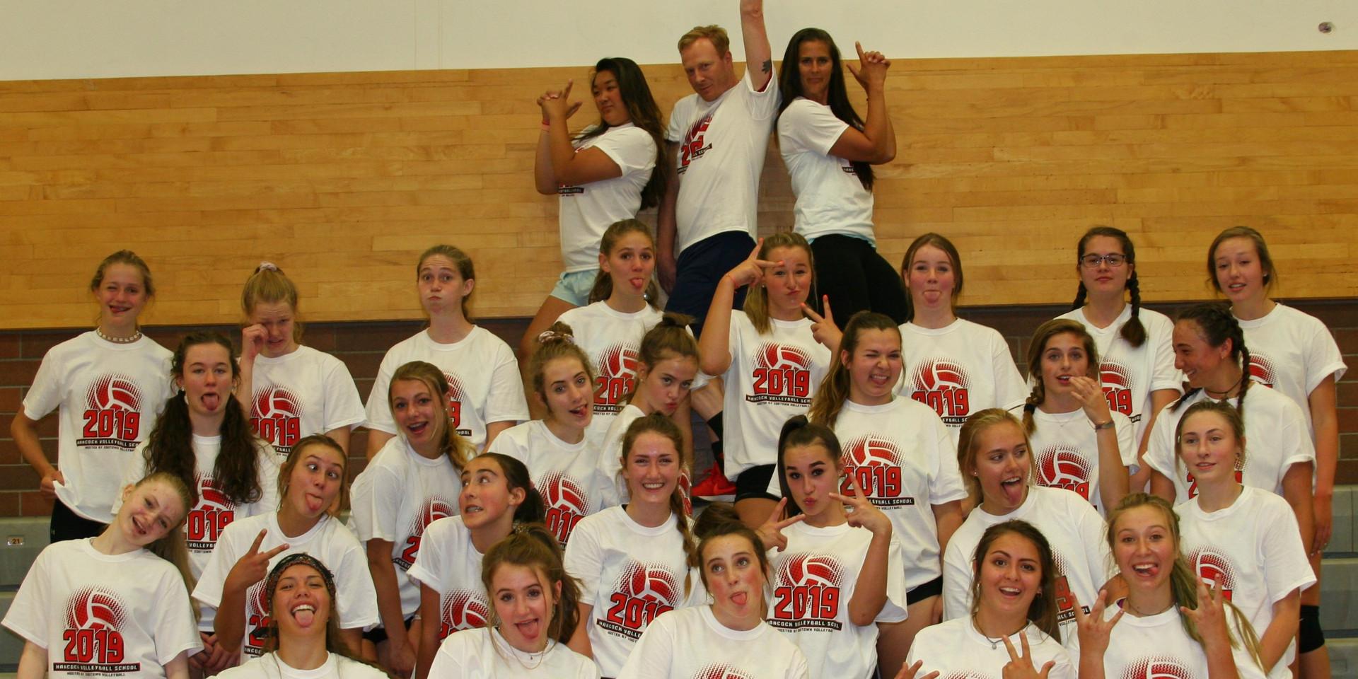 2019 Volleyball School - HS Camp Fun