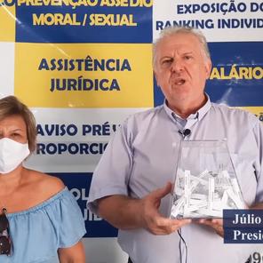 """Trabalhadora da Agência Digital Caixa é vencedora do sorteio """"Ajude a Santa Casa"""""""