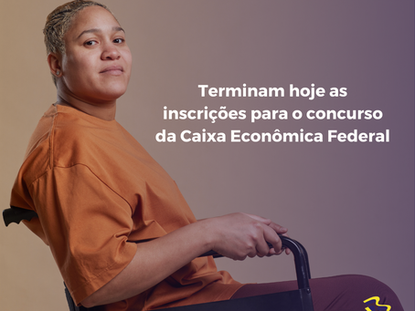 Terminam hoje as inscrições para o concurso da Caixa Econômica Federal