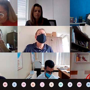 Sindicato dos Bancários de Sorocaba participa da reunião virtual com COE - Bradesco e Contec