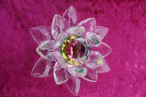 fleur de lotus en cristal pm
