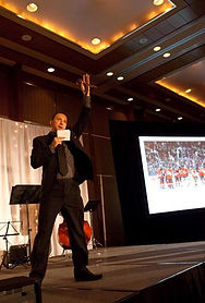 Auctioneer Raising Money for Charity and Benefits in Ottawa, Canada