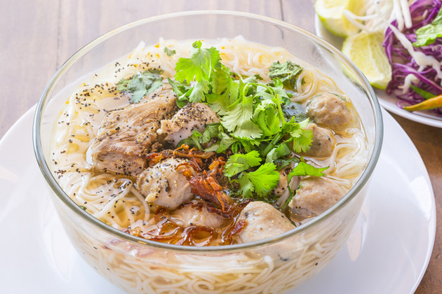 Bún Mọc  Pork and Mushroom Noodle Soup.j