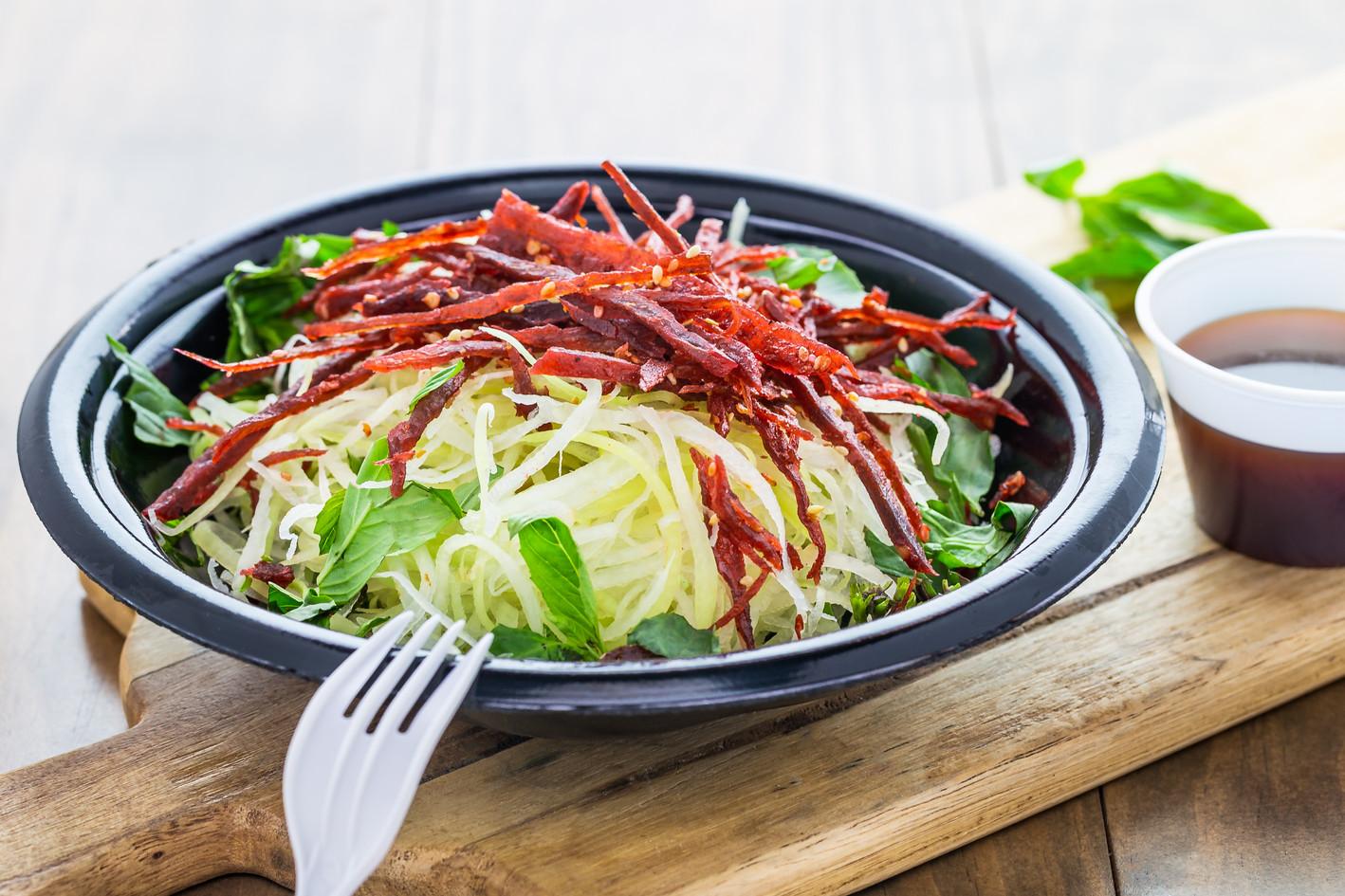 Gỏi Đu Đũ Khô Bò  Green Papaya Beef Jerk