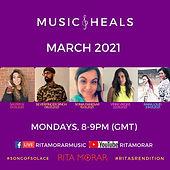 Music Heals March 2021