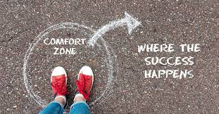Exiting Your Comfort Zone and Stepping into a New Level!