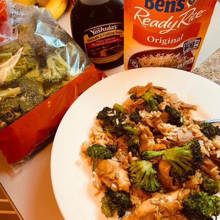 SIMPLE Teriyaki Chicken & Broccoli