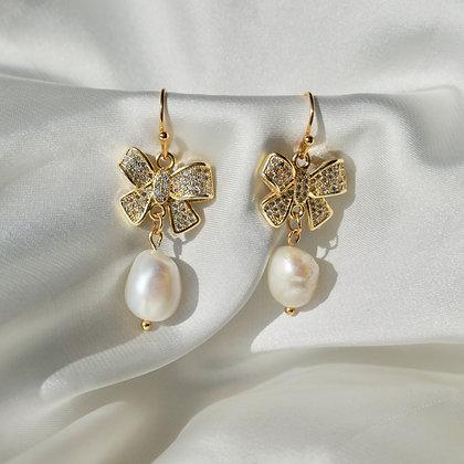 Mariel Bow Earrings