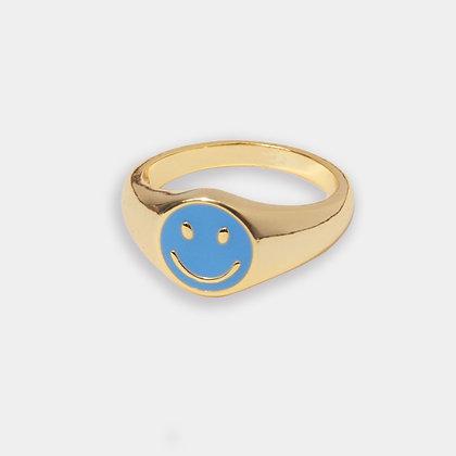 Smile Ring - Blue