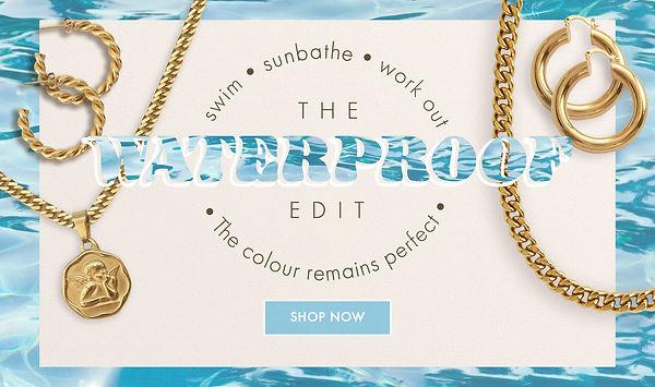 waterproof jewellery