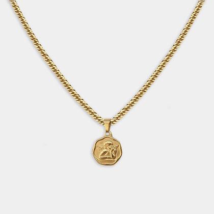 Guardian Coin Pendant