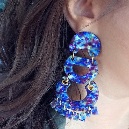 """""""Don't Be Blue, Baby"""" Earrings"""