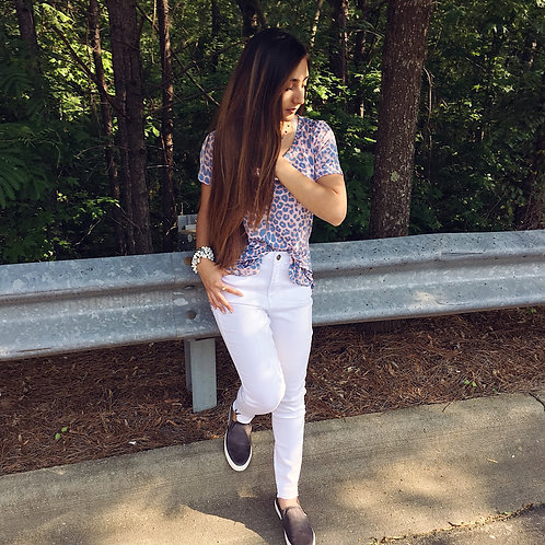 """""""White Out"""" Kancan Skinnies"""