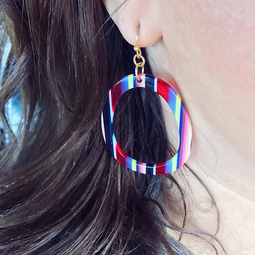 """Real Retro"" Hoop Earrings"