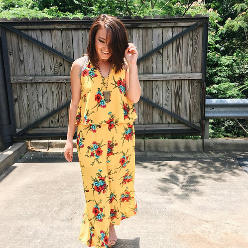"""Sunshine On Me"" Jumpsuit"