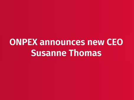 Susanne Thomas has joined ONPEX S.A. to help it continuing its ambitious global growing objectives