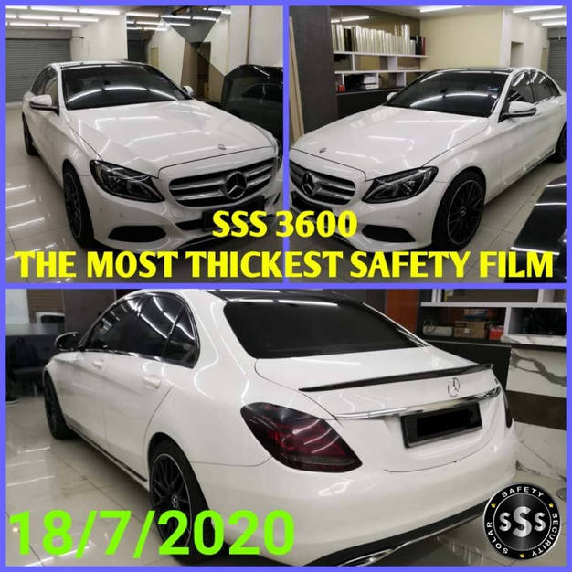 SSS window film with 100% cash back