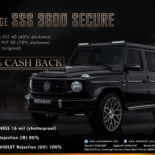 100% cash back Malaysia SSS window security film