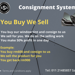 You buy we sell investment concept