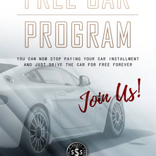 FREE CAR PROGRAM. With SSS Buy to invest