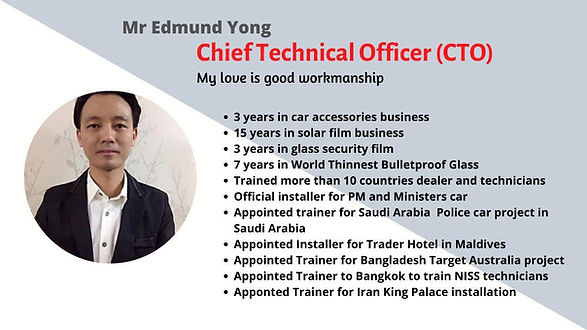 EDMUND YONG. CTO at SSS Auto Asia. www.s
