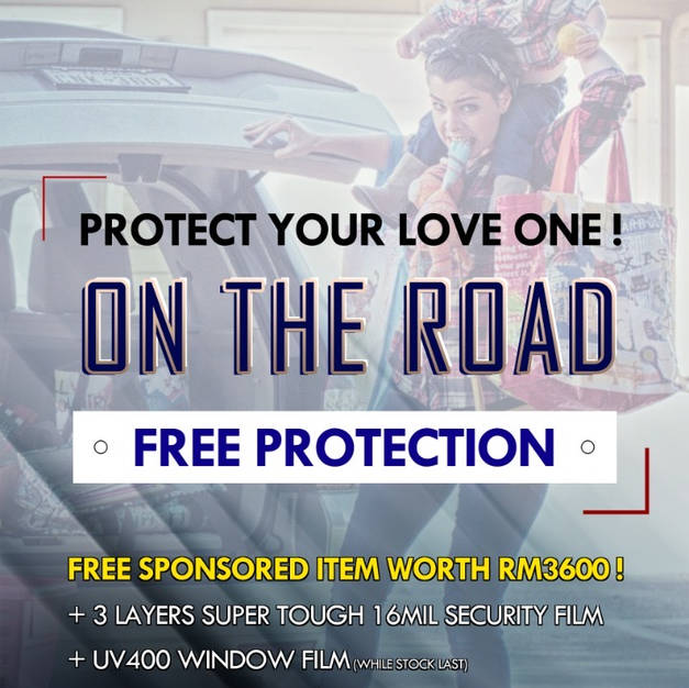 PRODTECT YOUR LOVE ONES ON THE ROAD with