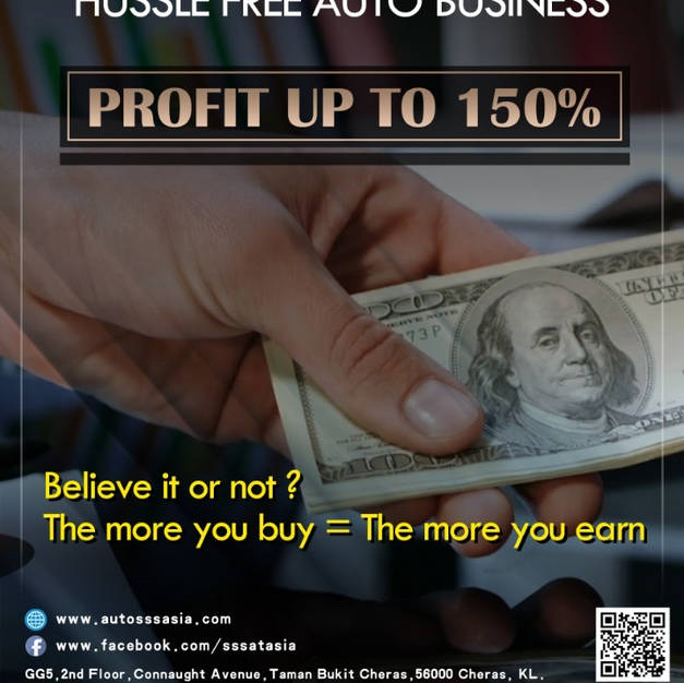 TURN YOU CASH TO 150%