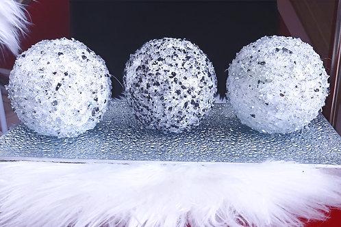 3 Piece Crystal Balls
