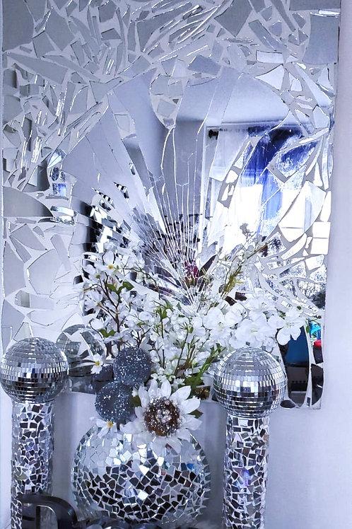 Shattered Glass Mirror Set