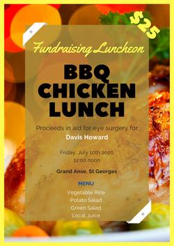 Fundraising Luncheon Flyer
