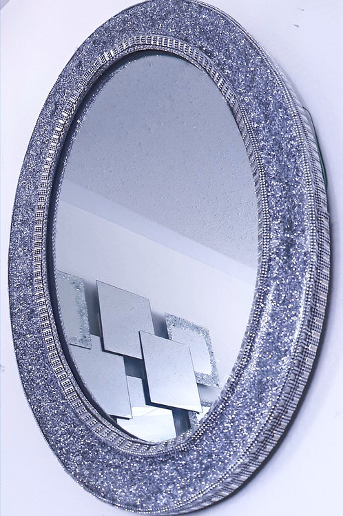 Oval Mirror - Sparkles