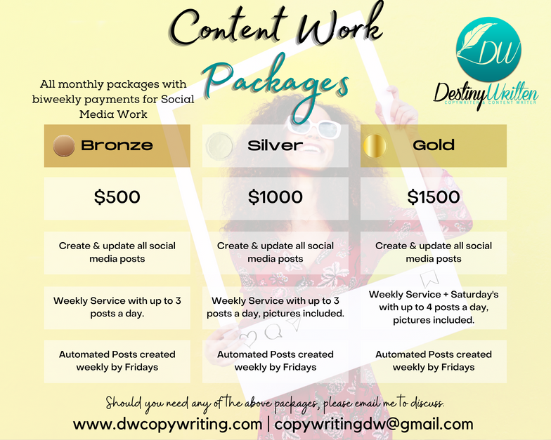 Content Work Packages