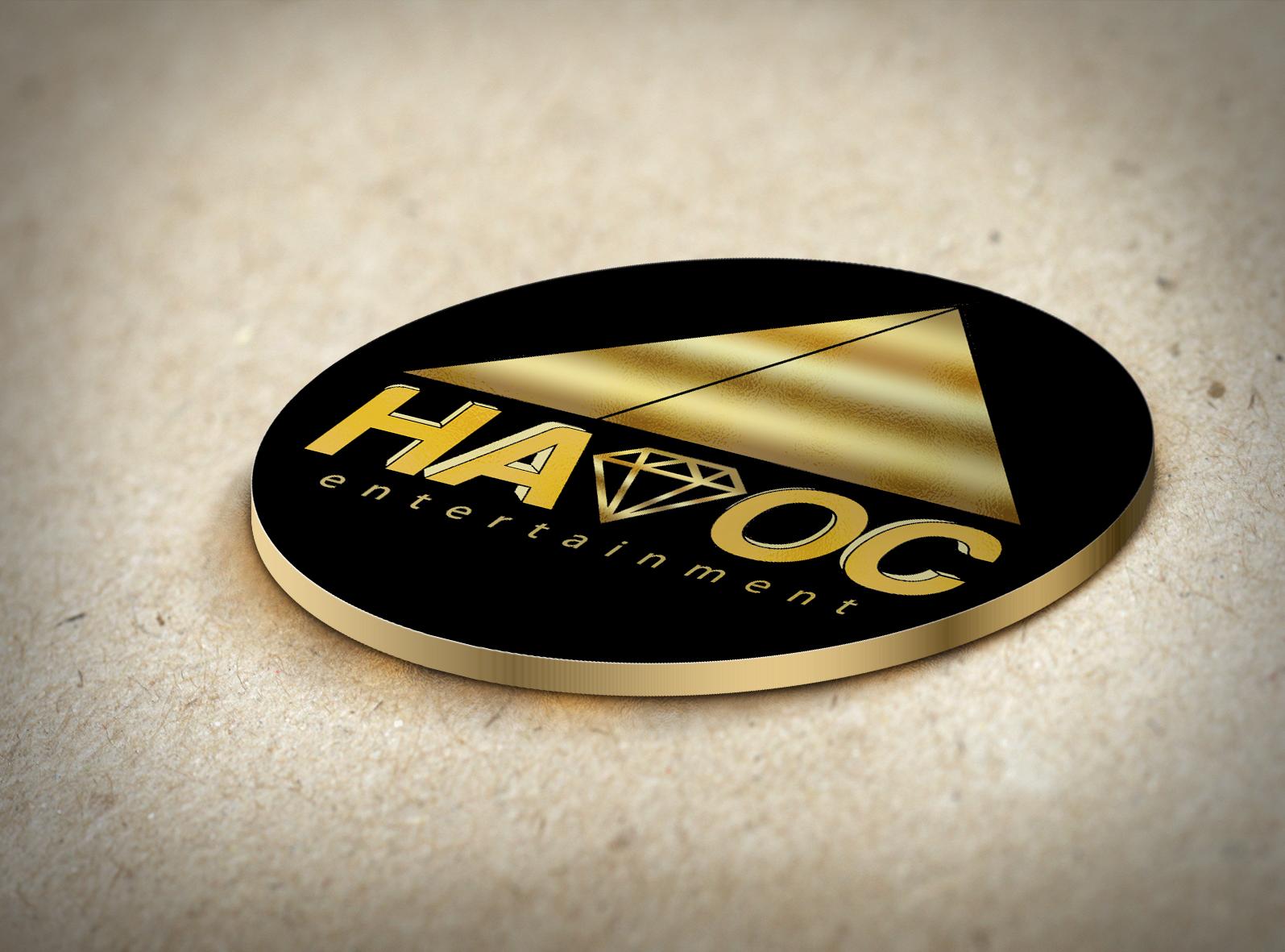Havoc Entertaiment Logo mockup