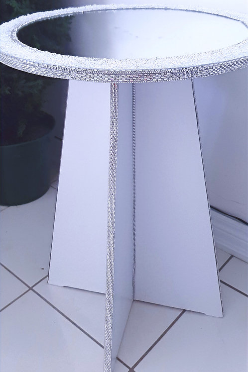 White Crystal Table