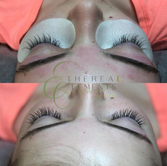 🌿 4 Week old Lash Extensions Infill fro
