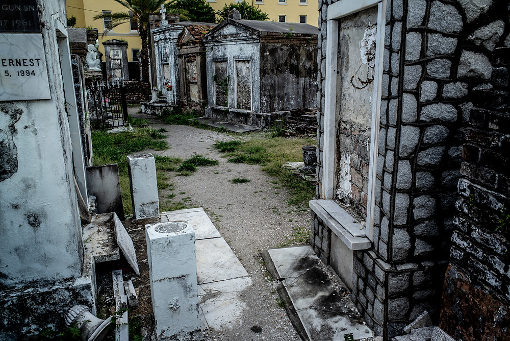 St. Louis Cemetery No.1, New Orleans, Louisiana
