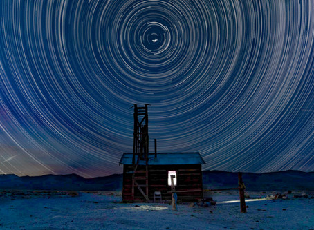 The best laid plans...Star Circles in the western Nevada desert