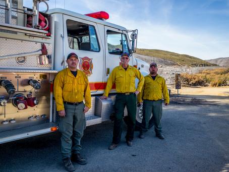 Thomas Fire in Ventura County, CA