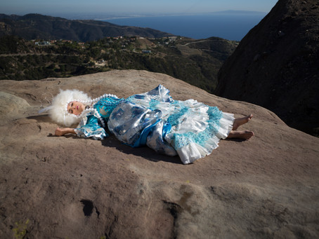 Photoshoot with Sally Long in Malibu